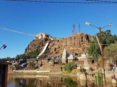 Kalika Mata Temple in Panchmahal district, Gujarat