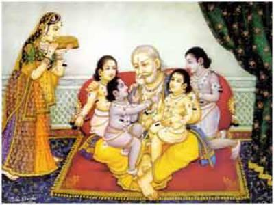 King Dashrath Mahal in Ayodhya