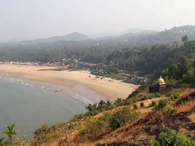 Gokarna Beach in Uttara Kannada of Karnataka