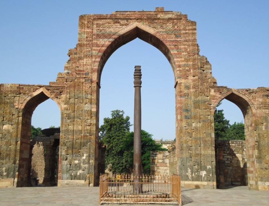 Iron Pillar Delhi, History, Timings, Mysterious Facts ...