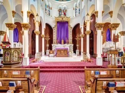 Sacred Heart of Jesus Church in Pondicherry