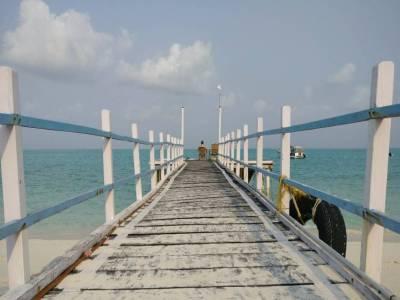 Kadmat Island India